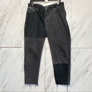 Barney Cools Washed Relaxed 90s Panel Crop Jean 34